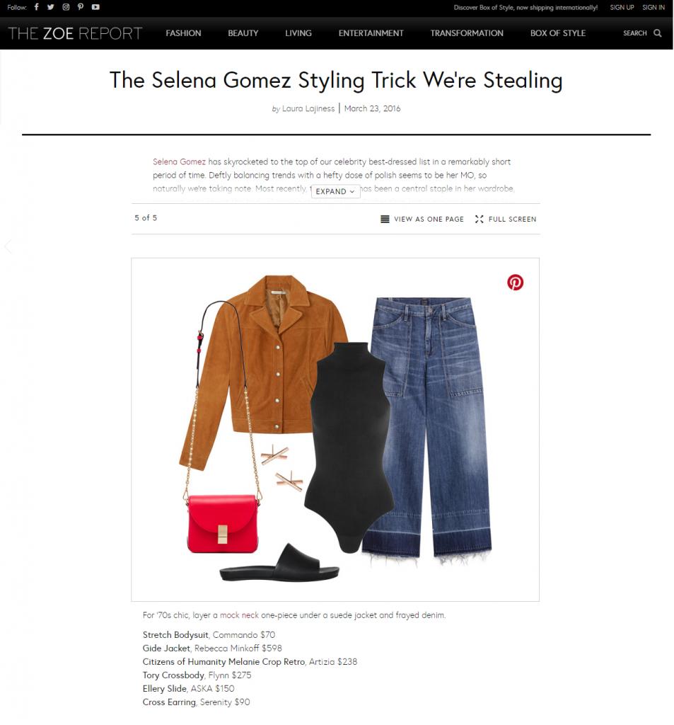Fashion PR Placement