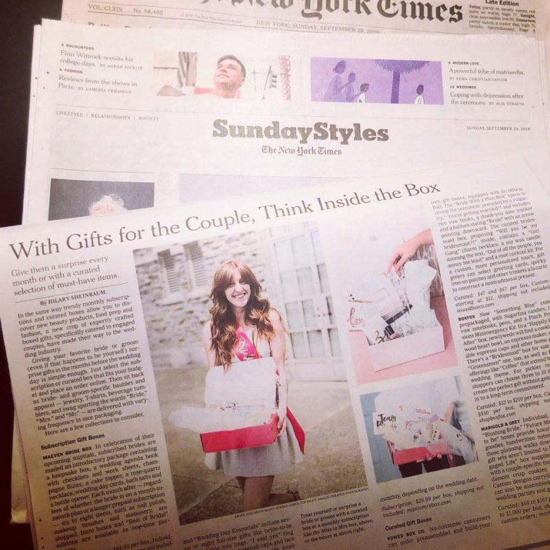 Maeven Bridal Box The New York Times September 2019